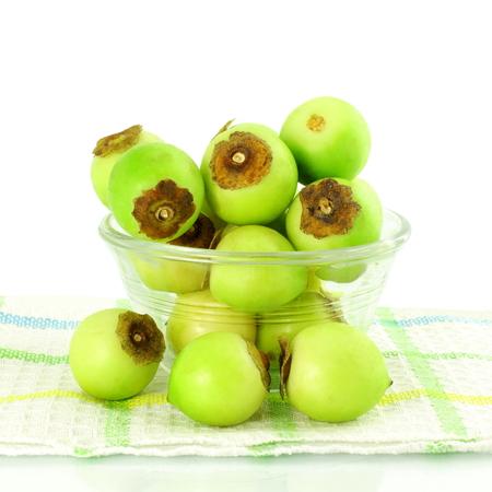 gunda gumberry or lesoda indian sesonal pickle vegetable