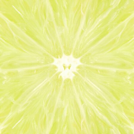 yellow to drink: lemon lime fruit slice as background Stock Photo