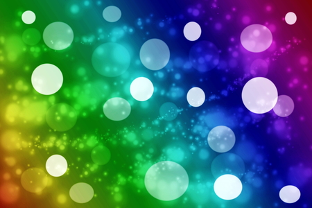 de focused: Colorful de focused circles light abstract background Stock Photo