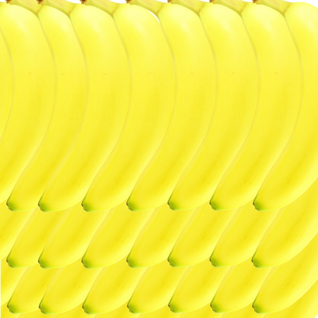 banana yellow: ripe yellow banana fruit