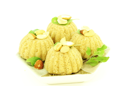 indian sweet: god ganesha prasad sweet laddu or ladu indian sweet