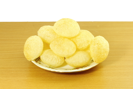 pani: Puri for Panipuri or Gol gappa Gujarati Marathi  Indian Food snack