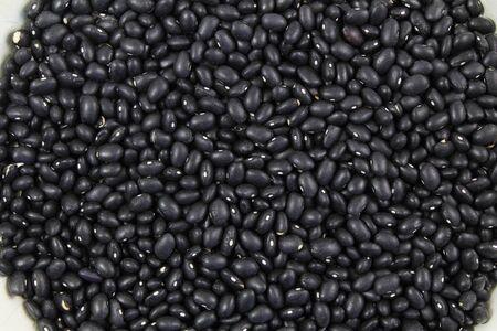 black beans: dry black beans as background