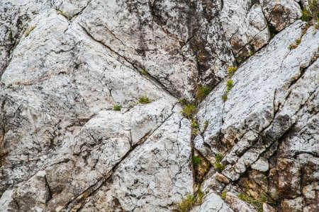 scotia: stone marbel in the Nova Scotia park Stock Photo