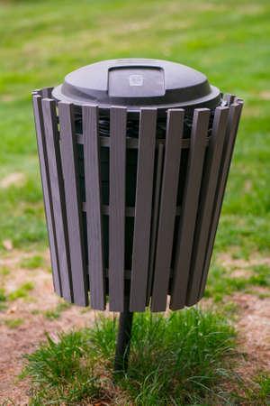 recolector de basura: Estético, basura, cubo, parque