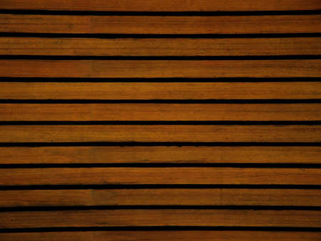 veneer: an old brown board in a horizontal pattern, generic but classic