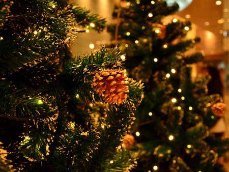 pine cone: Natale Decor (Pigna 2) Archivio Fotografico
