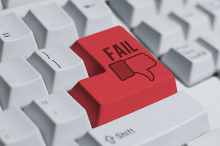 You Fail!---keyboard Stock Photo - 11841990