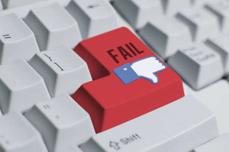 You Fail!---keyboard 2 Stock Photo - 11842177