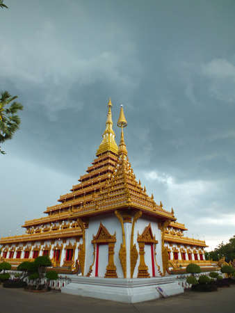 eminent: towering temple---in eastern of Thailand 2