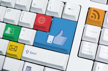 sozialarbeit: IT-Keyboard (Winkel 1) --- keine Marke Lizenzfreie Bilder