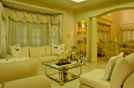 furnishings: Grand Living Room--relax zone