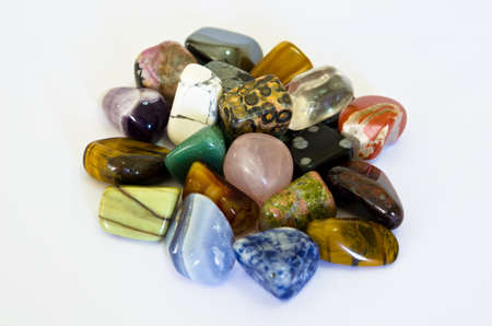 opal: Colorful Stones Stock Photo