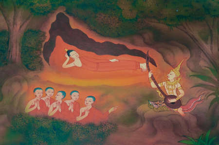 2d wallpaper: Firstly, the Buddha have five companions following him at first. They all want to practice themselves to attain enlightenment. Editorial