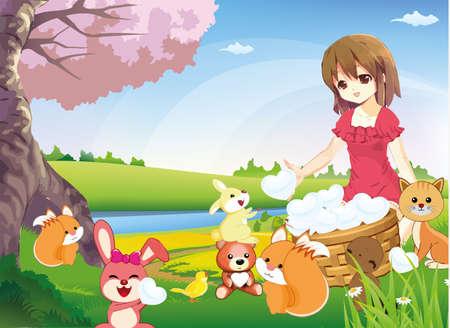 аниме: Обмен True Love в мире (версия 2)