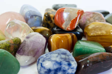 Colorful Stones (Macro)  photo