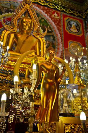 The small and large Buddha image represent the Buddha Stock Photo - 12162954