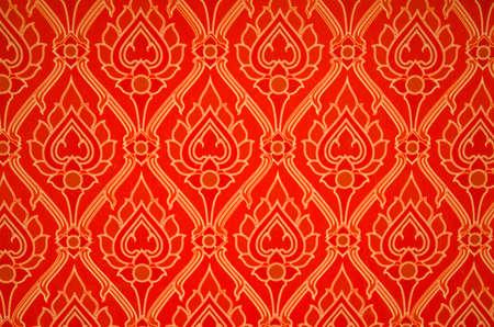 Red tajskim tapety z ładnym wzorem lotosu
