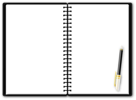 Usable notepad Stock Vector - 12449566