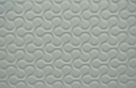 swell: White plastic wallpaper with nice pattern