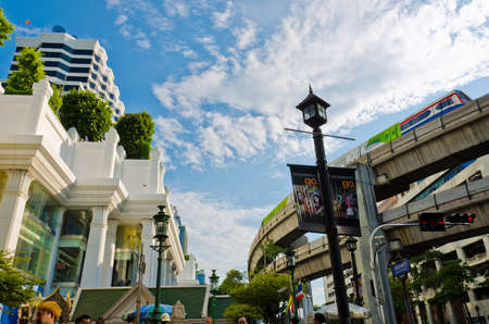 In the capital city of Bangkok (Ratchaprasong Road), everything never stop. Its the core of urban.