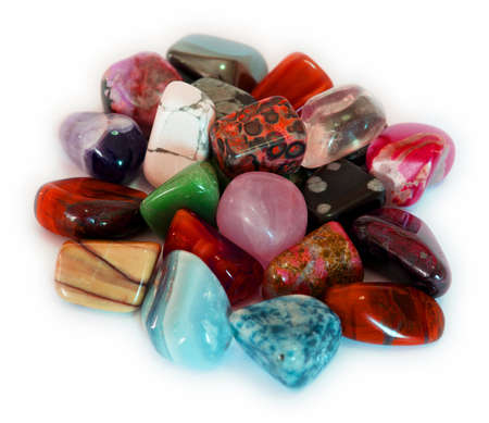 Colorful Stones  Isolate  photo