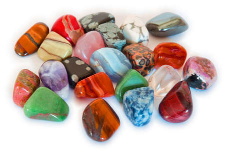 agate: Colorful Stones  Isolate