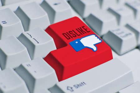 Dislike button  final Stock Photo - 13396612