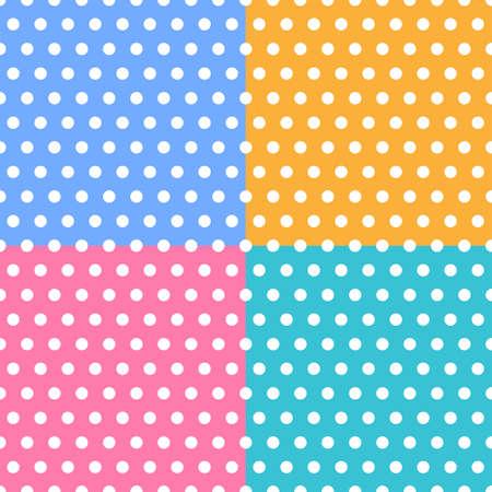 2d wallpaper: Colorful dot pattern wallpaper