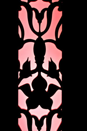 Pink silhouette pattern artwork photo