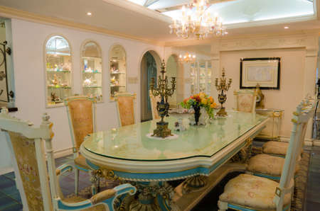 Grand Dinning Room (Final) Stock Photo
