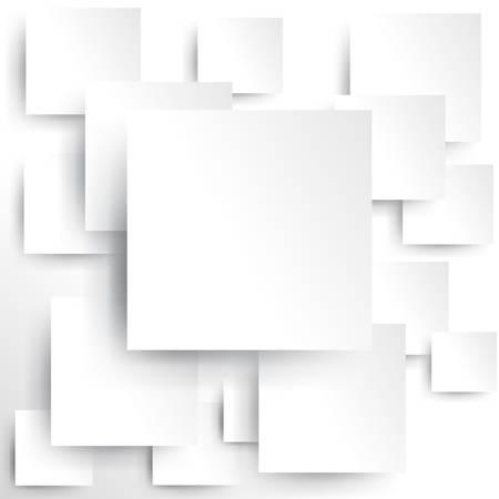 Plac elementem na białym papierze z cieniem