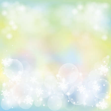 Greenish abstract background with bubble and sparkle, create by vector Stock Vector - 17103860