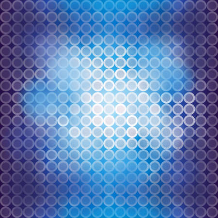 art digital: Blue blinking light background, create by vector Illustration