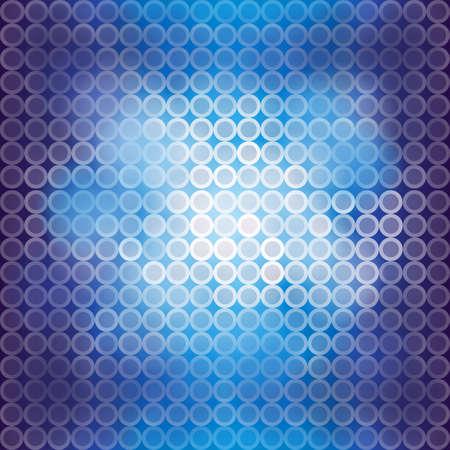 Niebieskie tło miga światło, tworzyć o wektor