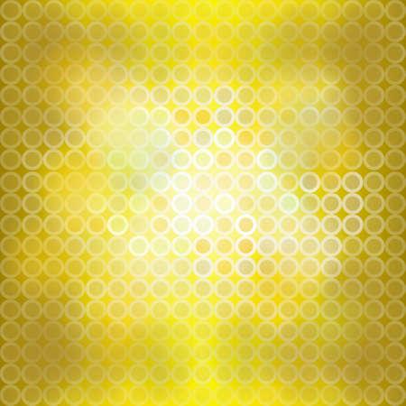 blinking: Yellow blinking light background, create by vector