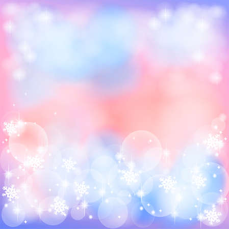 Romance abstract background with bubble and sparkle photo
