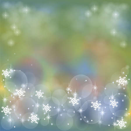 Dull greenish abstract background with bubble and sparkle photo