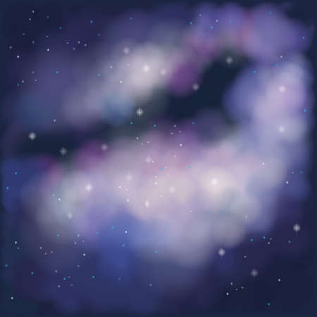 looming: Nebula Background, create by vector Illustration