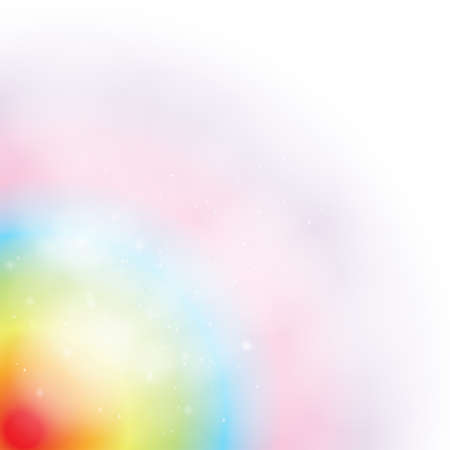 Soft rainbow abstract background, create by vector Vector