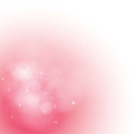 Soft Pink Misty background, create by vector Vector