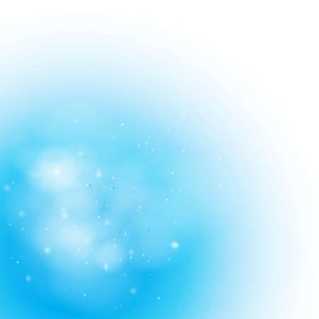 Soft Blue Misty background, create by vector Illustration