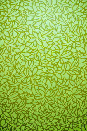 2d wallpaper: Light green flora background with shade and gradient