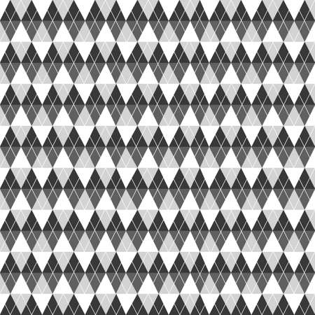 Black and White Sweater pattern, create by vector Vector