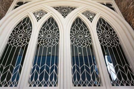 church window: Beautiful window architecture