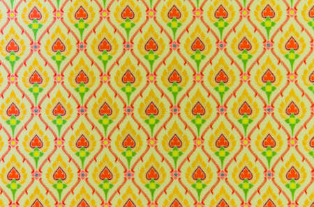 thaiart: Pattern of a Thai-art carpet  Can be use as wallpaper or background