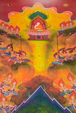 living things: Finally, Siddhattha enlightens as the Buddha which means the awaken one   This is a great achievement for all living things, even gods in heaven praise for the effort
