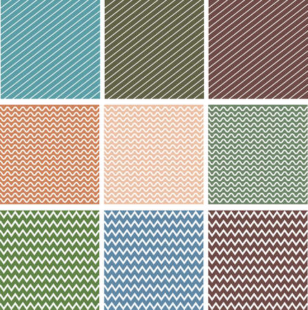diagonal lines: Various colorful pattern background set 2