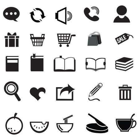 Vaus universal icon collection set Stock Vector - 21931439
