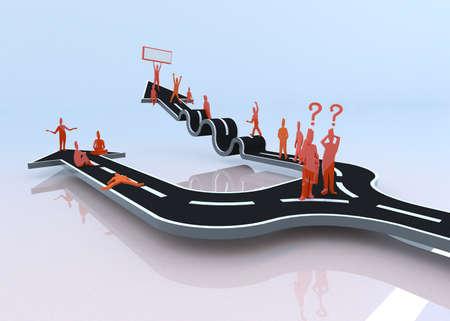 tembellik: Engel hayatında ilerlemesini ve başarı yaparken hangi yolu tembel yolu size hiçbir getiriyor tembellik veya sıkıntı 3D seçecek